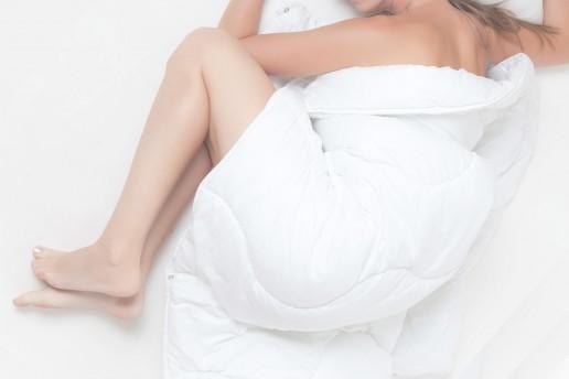 Quítate toda la ropa para dormir
