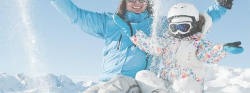 ¿Por qué escaparte con niños a la nieve?