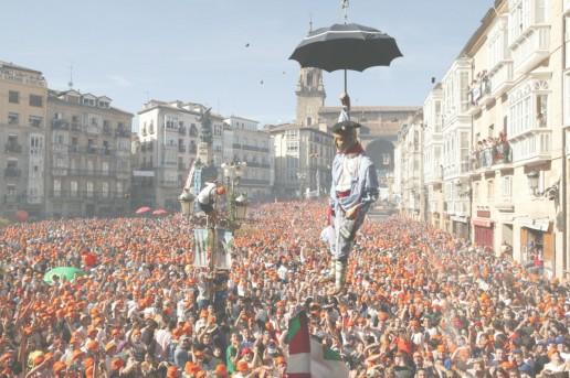 Planes en Vitoria: fiestas de la Virgen Blanca 2018