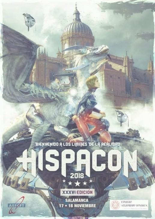 Fantasía, ciencia ficción y terror en HispaCon 2018