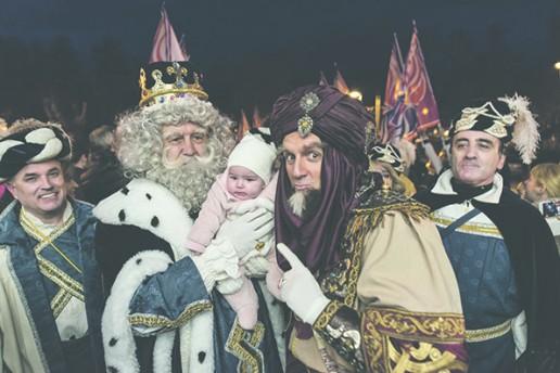 Recibe a los Reyes Magos en Pamplona