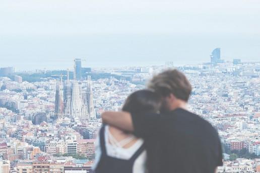 Barcelona, ¡ciudad del amor en San Valentín!