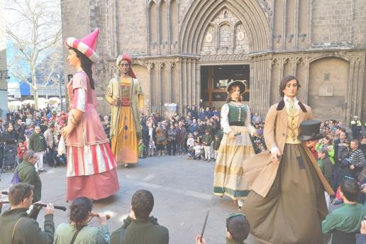 Llegan las fiestas de Sant Josep Oriol a Barcelona